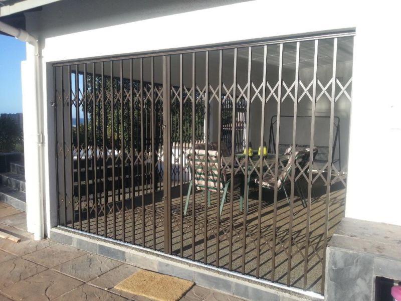 Crime Stopper Gates Patio Door