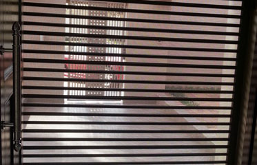 perforated slats